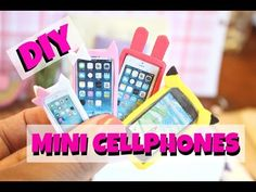 Hope you guys enjoy this tutorial on How to make miniature cellphones! You can resize these for LPS, Monster High, Barbie, American Girl and MORE! Doll Crafts, Diy Doll, Leopard Handbag, Diy Barbie Furniture, Doll Accessories, My Little Pony, Dollhouse Miniatures, Arts And Crafts, Phone Cases