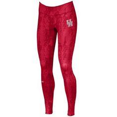 University of Houston Cougars UnderArmour Womens Bare Patterned Leggings