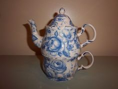 Harry and David Ceramic Tea for One Teapot and Cup #HarryandDavid