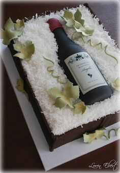 The Baking Sheet: Wine Crate Cake!