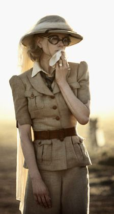 Nicole Kidman in Australia, costumes by Catherine Martin.