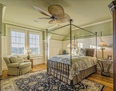 The ceiling fan -