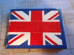 Union Jack - British Flag wallet - duct tape wallet - duck tape wallet | theducktapediva - Bags & Purses on ArtFire