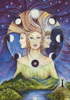 wicca deusa triplice - Pesquisa Google