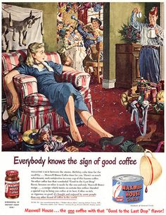 Albert Dorne for Maxwell House
