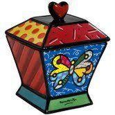 Romero Britto Cookie Jar/Canister - Butterfly Romero Britto http://www.amazon.com/dp/B007IMMD6W/ref=cm_sw_r_pi_dp_XpF2tb1S99698GQV