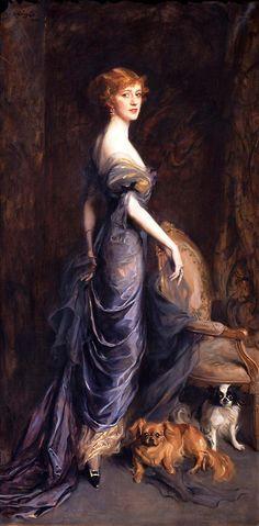 'Mrs George Owen Sandys', 1915 - Philip Alexius de Laszlo (Hungarian/British, 1869 - 1937)