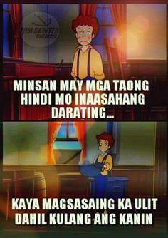 Pinoy humor Crush Quotes Tagalog, Tagalog Quotes Patama, Bisaya Quotes, Tagalog Quotes Hugot Funny, Memes Tagalog, Hugot Quotes, Life Quotes, Memes Pinoy, Filipino Quotes