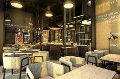 TAO Designs LLC _ Gossip Cafe & Dessert-BoxPark / Dubai