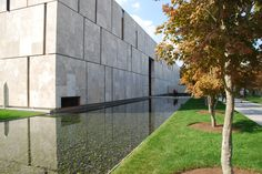 The Barnes Foundation [designed by Tod Williams and Billie Tsien Architects] featured on the Friends of Architecture Philadelphia tour, 2012 [photo by Fritz Steiner] #friendsofarchitecture #architecture #philadelphia
