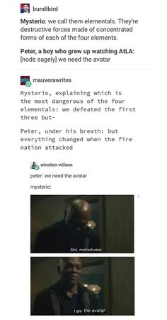 Far From Home. Avatar the Last Airbender. Far From Home. Avatar the Last Airbender. Everything cha… Peter Parker. Marvel Jokes, Avengers Memes, Marvel Funny, Marvel Dc Comics, Marvel Avengers, Univers Marvel, Shuri Black Panther, Dc Memes, Avatar Airbender