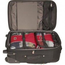 Great packing tips including: Ditching the dryer, reducing your load, cube it, stuff it and more.  Save $$ on fees and travel lighter and smarter.