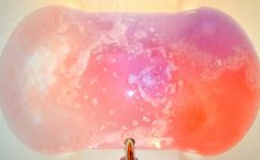 lush bath bombs space girl dissolved