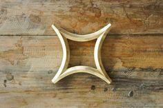 Japanese Brass Star Trivet