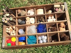 Tinker Tray made out of an old Coke crate. Thanks for the inspiration @MeriCherry #looseparts