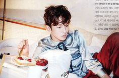 Photo )) SHINee's Key photoshoot with 'Elle Korea'