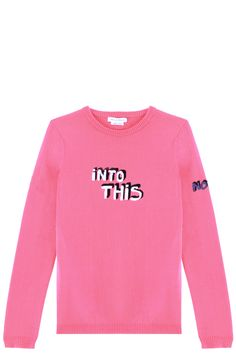 Bella freud Into This Sweater in Pink