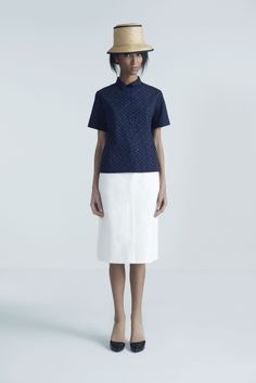 Steffi Hat, Zala Shirt and Coralyn Skirt | Samuji Pre-Fall 2014 Collection