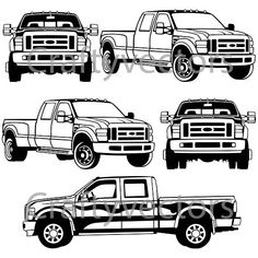 350 ford truck drawings