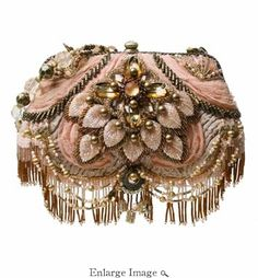 Mary Frances Bag First Blush....Beautifulest Baggage! Just OMFG all over LOL! Mary Frances Purses, Mary Frances Handbags, Vintage Handbags, Vintage Bags, Vintage Purses, Vintage Prom, Unique Vintage, Womens Purses, Beautiful Bags
