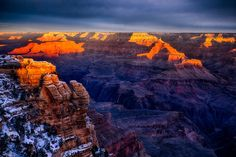 The Awesome Light of a Grand Canyon Sunrise
