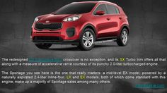 The redesigned 2017 Sportage crossover is no exception, and its SX Turbo trim offers all that along with a measure of accelerative verve courtesy of its punchy 2.0-liter turbocharged engine. http://www.westsidekia.com/houston_Kia_SPORTAGE.html