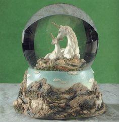 Unicorn Water Globe