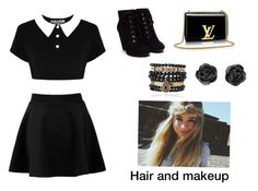 """""""Something I think Sabrina Carpenter would wear"""" by papyrus27 ❤ liked on Polyvore featuring Killstar and Samantha Wills"""