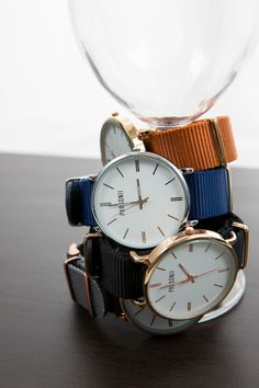 The Parsonii interchangeable watches are so fun! Mix and match to your mood!
