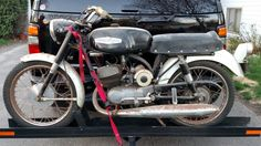 Headed for restoration. 1968 Harley-Davidson Aermacchi Rapido 125cc