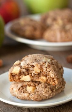 Gluten Free Apple Cookies | My Baking Addiction