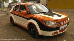 Modified Maruti Dzire by Concept Combination called Caravans, Sport Cars, Motorhome, Vintage Cars, Campaign, Concept, Medium, Vehicles, Sports