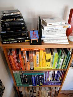 chromatic book display