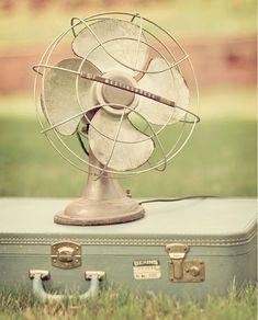 vintage electrical fan