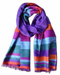 Afghan silk scarf from Mazar-e-Sharif @ House of Wandering Silk  www.wanderingsilk.org