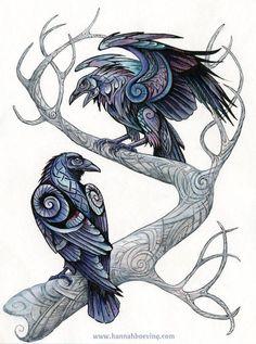 odin's ravens - Google Search