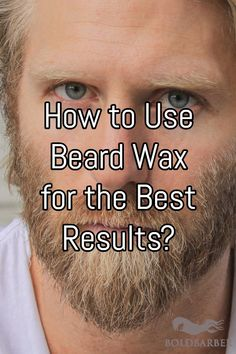 September-November is when beards and mustaches rise to popularity! So, why not try beard wax to style things up? Here's how to use it for the best results! Beard And Mustache Styles, Beard No Mustache, Hair And Beard Styles, Moustache, Grow A Thicker Beard, Thick Beard, Popular Beard Styles, Beard Wax, Beard Butter