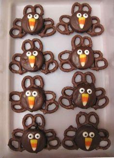 Adorable Thanksgiving desserts