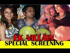 Ek Villain Movie Special Screening, Promotion at Yeh Hai Mohabbatein & C...