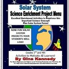 3RD AND 4TH GRADERS WILL LOVE THESE SOLAR SYSTEM ENRICHMENT PROJECTS!  Excellent writing and science integration, engaging enough to motivate then ...