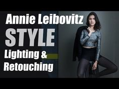 Annie Leibovitz Style Lighting Technique & Retouching Tips using StyleMyPic Pro Workflow Panel - YouTube