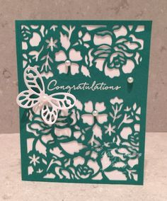 Emerald Floral by jaydee - Cards and Paper Crafts at Splitcoaststampers