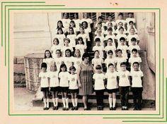 1968 - Alunos do 4. ano primário do Instituto Estadual de Educação Anhanguera, na rua Antonio Raposo no bairro da Lapa.