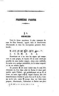 Études sur les inscriptions assyriennes de Persépolis, Hamadan, Van et Khorsabad - Philoxène Luzzatto | Bayerische Staatsbibliothek