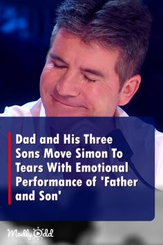 A Father And His Three Sons Take Center Stage For Touching Classic Got Talent Videos, Britain's Got Talent, Talent Show, Kids Talent, Live Music, My Music, Music Stuff, Fun Stuff, Music Songs