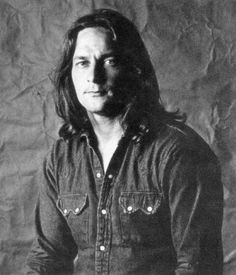 One of my favourite images of Gene Clark, a bit rugged - a bit lost…