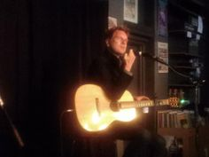 David Poe at The Record Exchange - 94.9 FM the River - Music First