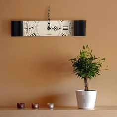 A Slice Of Time Clock // 10 MOST Creative Clocks That Will Inspire Your Time