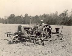Case Tractor Cultivator