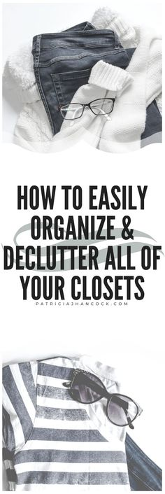 In the third part of the series, learn how to completely clean, organize, and declutter your closets! This guide can easily be used to declutter any closet, no matter what the contents are or how large. Use the free printable to complete each closet on your own schedule and at your own pace!